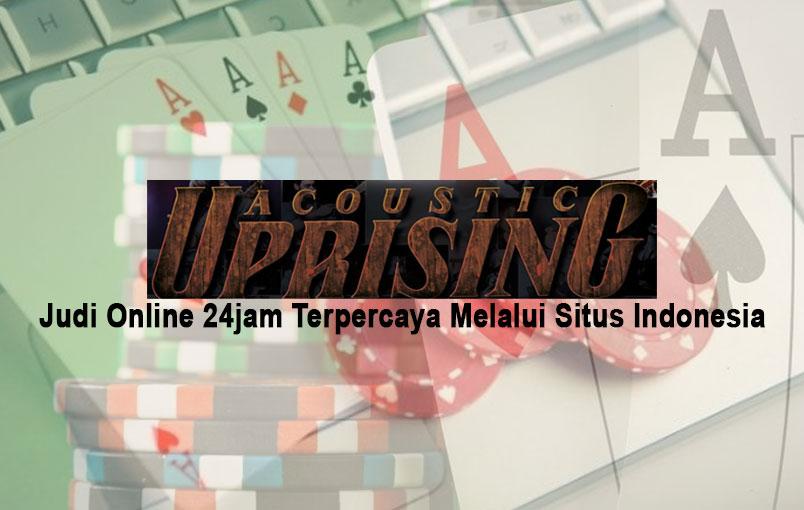 Judi Online 24jam Terpercaya Melalui Situs Indonesia - Situs Game